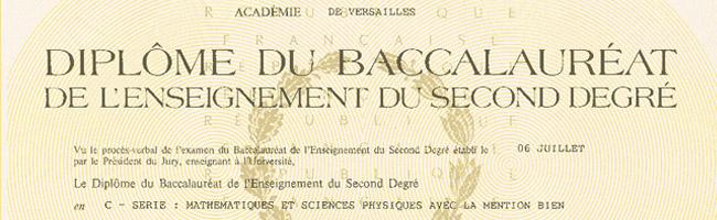 baccalaureat